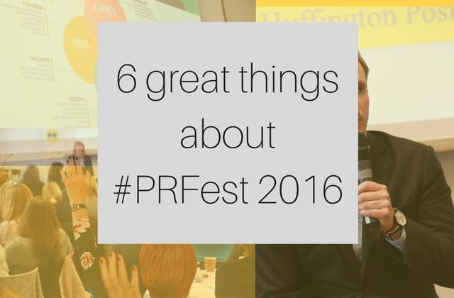 #PRFest 2016