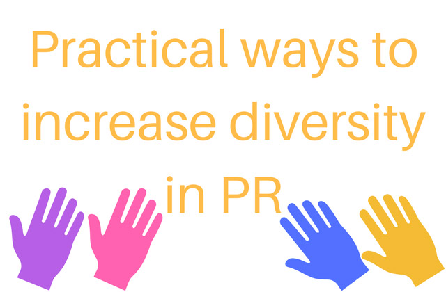 increase diversity in PR
